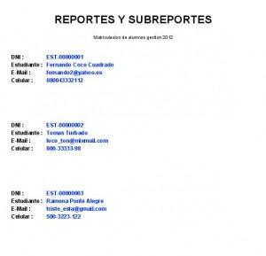 preview reporte