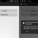 Activar/Desactivar Bluetooth