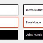 Crea un TextBox estilo Metro para java
