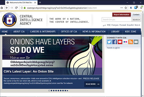CIA Darknet