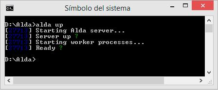 Iniciando servidor
