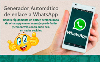 Generador de Enlaces a Whatsapp