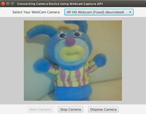 webcams con javafx