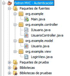 aplicacion mvc login usuario
