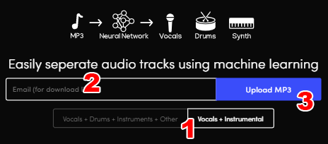 extraccion de audio usando redes neuronales
