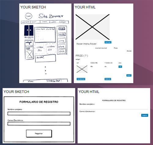 maquetado web con IA