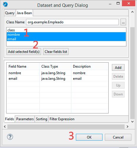 javabeans tutorial base de datos