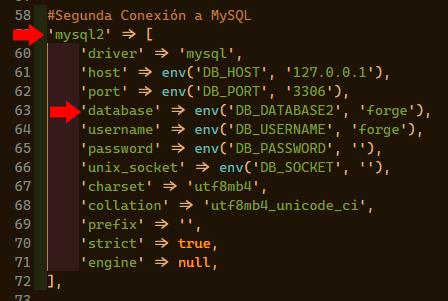 conexiones multiples a base de datos