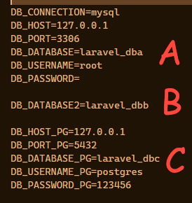 conexion a base de datos multiple